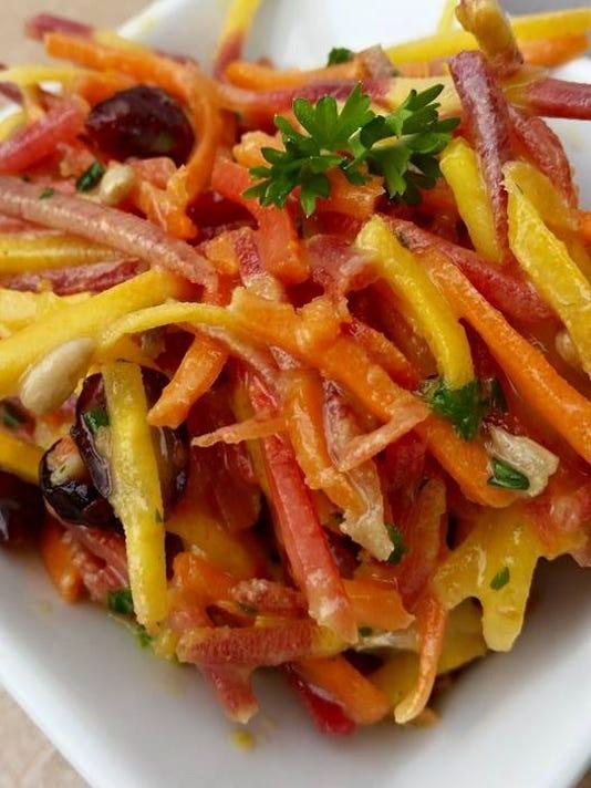 Just B-Still Zesty Cranberry Orange Carrot Slaw