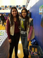 Karina Dominguez, left, and Alejandra Alvarado.