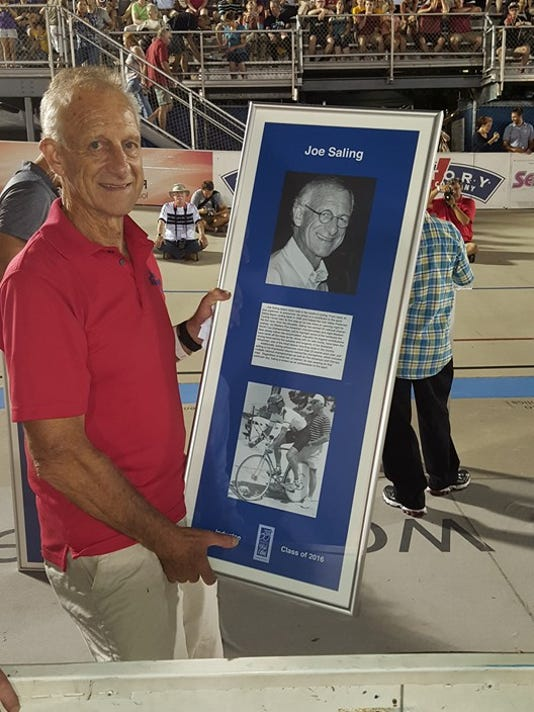 Joe Saling inducted into Track Cycling Hall of Fame