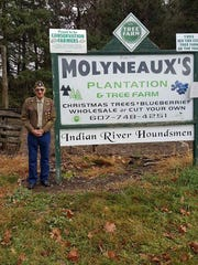 "Richard ""Pa"" Molyneaux, 97, owned Molyneaux Tree Farm."