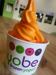 Yobe Frozen Yogurt will be opening soon in the Mill