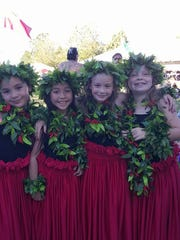 "Four of the ""cuties,"" the 3-to-5-year-old age group of Paradise of Samoa."