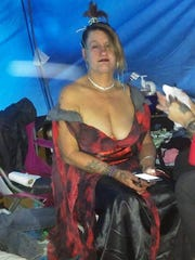 This is Sharon Crites on the night she married Michael Hancock. She died Jan. 24, 2017, at a homeless camp in northeast Springfield.