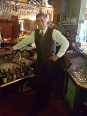 Charlie Poveromo at Grissini restaurant in Englewood