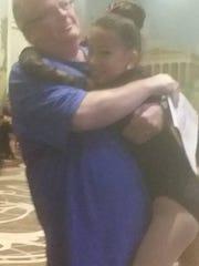 David Venner enjoys seeing daughter Marley dance.