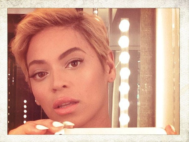 Celebs React To Beyonce S Haircut On Twitter