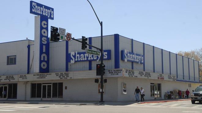 Sharkey's Casino opened in Gardnerville in 1971.
