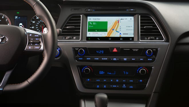 Hyundai is making  Android Auto a do-it-yourself job on the 2015 Sonata