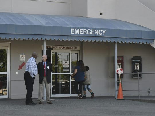 It's unclear what symptoms the patient presented when the hospital quarantined the person.