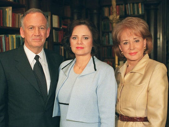 JonBenet Ramsey's parents, John and Patsy Ramsey, left