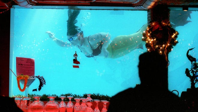 The Sip 'N Dip, which feature mermaids and mermen, is Montana's most talked-about bar.