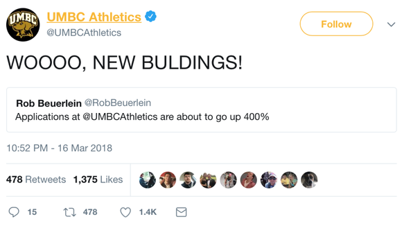 8 questions with the mastermind behind UMBC's hilarious Twitter account