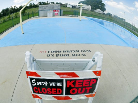 The Shippensburg Township wading pool at Britton Road is closed because of what township officials are calling violations by users.