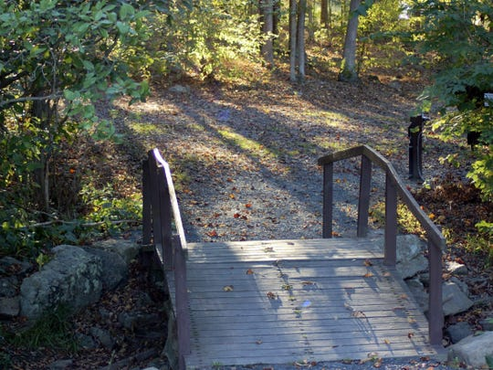 Pennsylvania officials say hiking is allowed during the stay-at-home order, but people need to practice social distancing and should avoid busy trails.