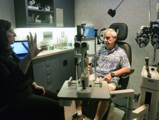 Dr. Stephanie Riggi talks with Hans Herrle about his day-to-day experiences with his vision.