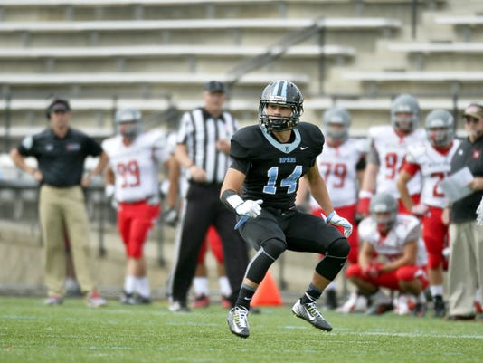 As a freshman, Addison Quinones has appeared in all six games for the Johns Hopkins football team as a defensive back. The Blue Jays are currently ranked No. 8 in the American Football Coaches Association Division III poll.