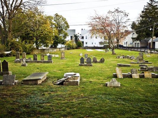 A recent photo of German Reform Church Cemetery, taken on Nov. 11, 2013. Clare Becker - The Evening Sun