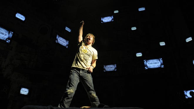"Wilmington native John Gallagher Jr. -- seen here starring in Broadway's ""American Idiot"" in 2010 -- will perform as part of a John Prine tribute at World Cafe Live at the Queen in Wilmington on Friday."