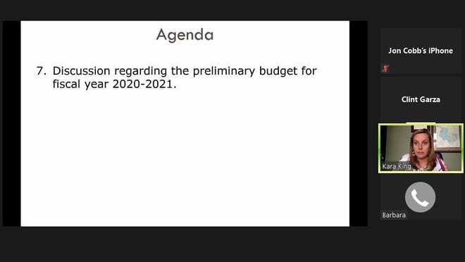 The City Council was presented with a proposed $10.05 million budget for the 2020-21 fiscal year during a meeting Aug. 11.
