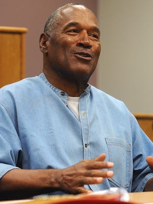 O.J. Simpson was granted parole on Thursday.