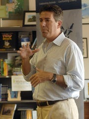 Wayne Pacelle, president of the Humane Society of the United States, in Lansing for a 2011 appearance.