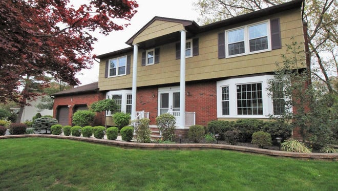 This four-bedroom home on Harold Court in East Brunswick will be open to the public from 1 to 4 p.m. today.