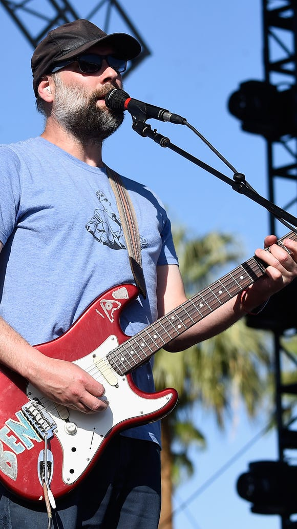 Built to Spill's Doug Martsch performing Sunday at the Coachella Valley Music & Arts Festival in California.