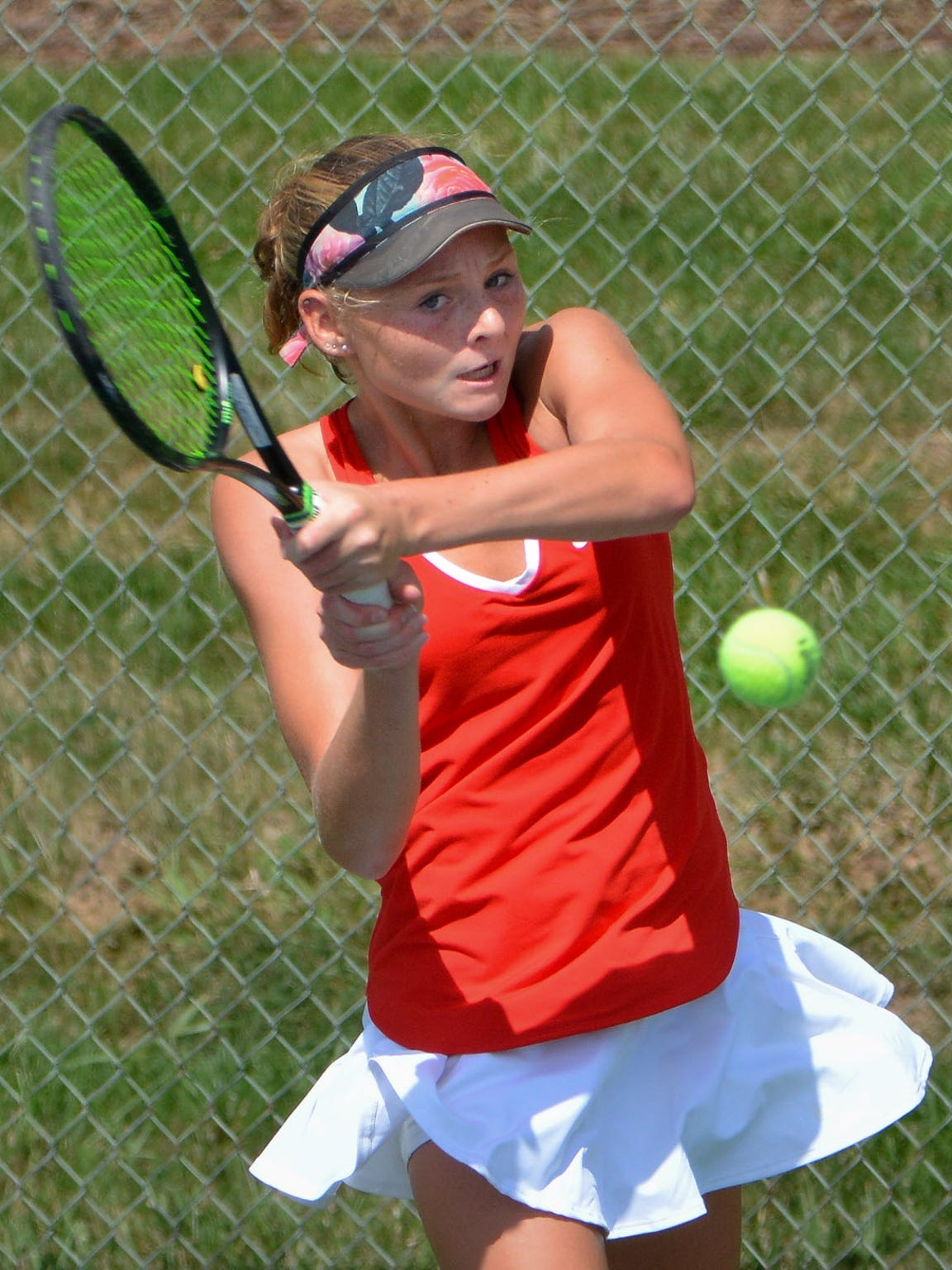 Andie Weise helped Homestead capture the girls team tennis title. She finished as the state runnerup in the individual singles tournament a week earlier.