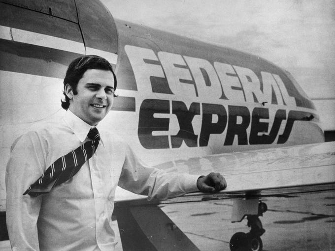 Frederick W. Smith, president of Federal Express, in