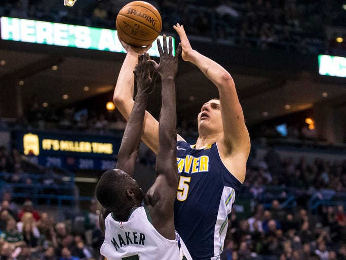 68. Nikola Jokic (Feb. 15) - 30 points, 17 assists,