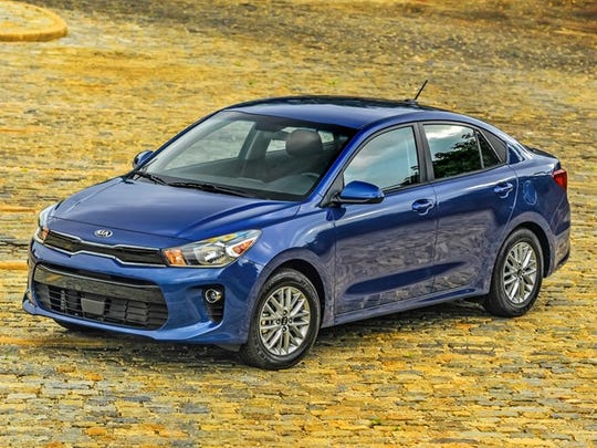The 2018 Kia Rio EX won the J.D. Power award for the small car segment.