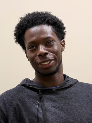 Devontae Pearson, 24, moved to Louisville a year ago to live with family, but soon found himself homeless. He discovered YouthBuild which eventually led him to Family Scholar House. He is currently going to school for construction and will soon be a resident in the new Scholar House apartments. Dec. 21, 2017