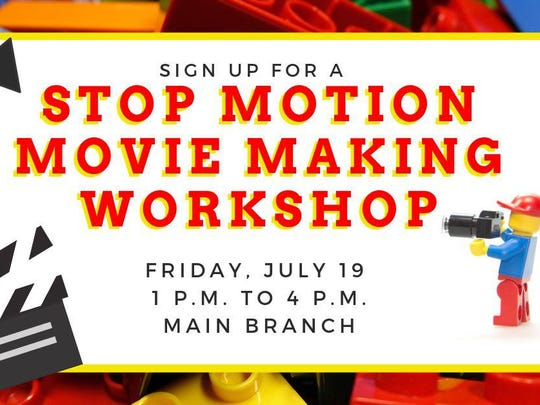 event-stop motion movie making