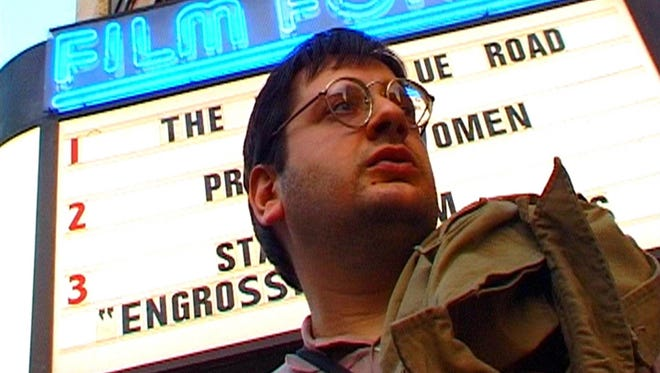 """Obsessive moviegoers are in the spotlight in the documentary """"Cinemania."""""""