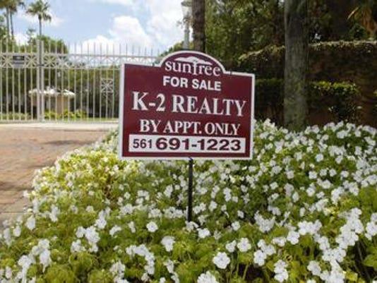 Home sales file photo