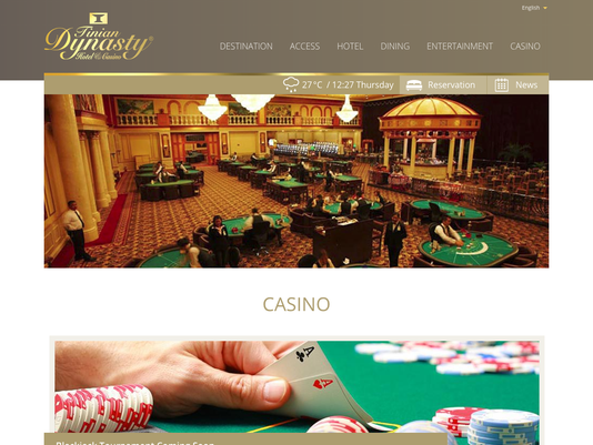 Dynasty Casino website