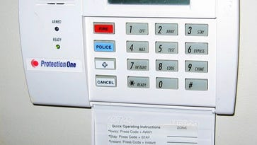 Two people have been going door-to-door in the Wanamassa section of Ocean Township, asking residents whether they have home security systems.