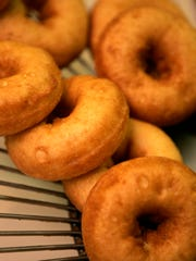 Golden delicious: Nothing beats warm doughnuts from Salinger's Orchard in Brewster.