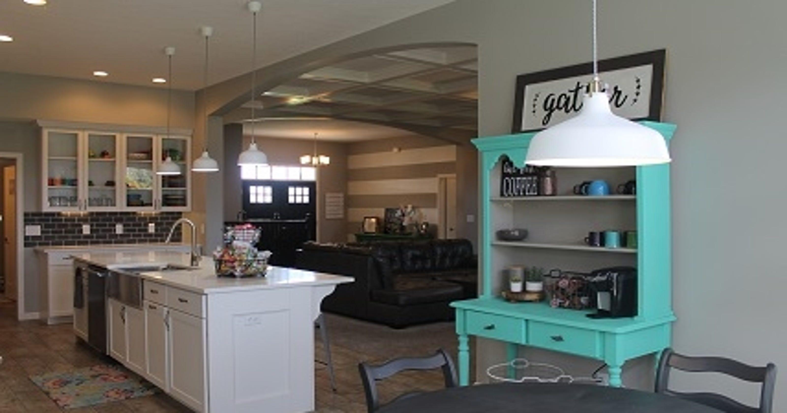 Take A Virtual Tour: $500K Lafayette Home With Modern Chic
