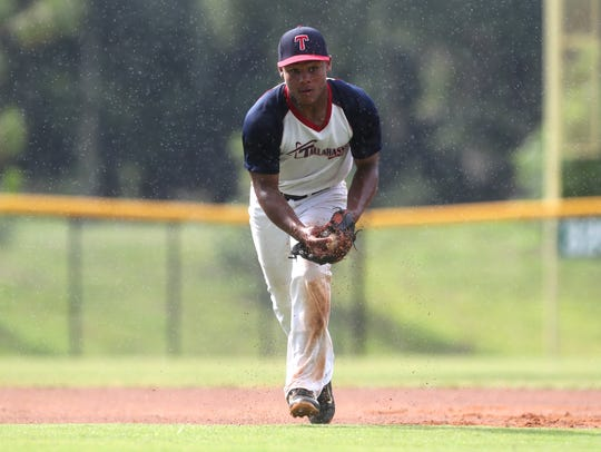 WIll Brown plays with the Tallahassee-Leon 15U all-star
