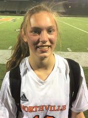 Northville freshman Sophia Jeromsky had the game-tying