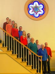 The choir of Peapack Reformed Church in Gladstone will