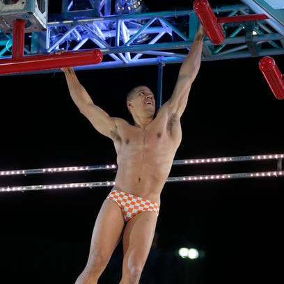 "Michael Wright of Knoxville competes on ""American Ninja"