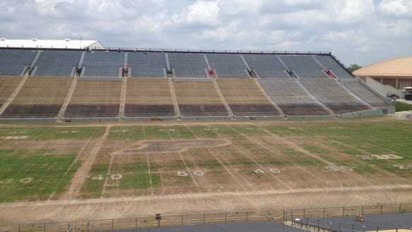 Ross-Ade Stadium playing surface