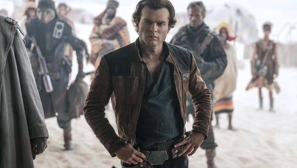 "Alden Ehrenreich is Han Solo in ""Solo: A Star..."
