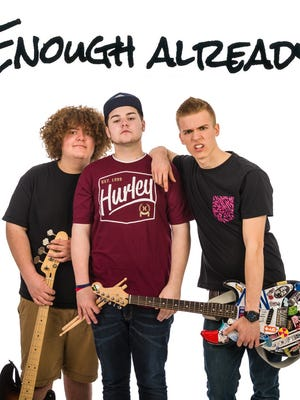 Rock band Enough Already is playing at Summerfest on July 1 as part of the youth garage band competition ROCKONSIN.
