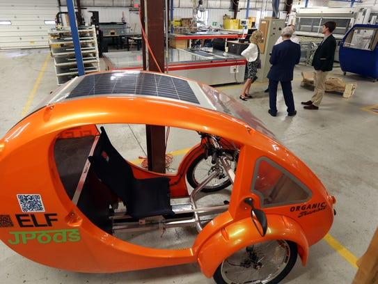 A JPod Elf on display at Pao Lab in Poughkeepsie, Columbia