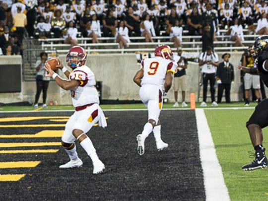 Tuskegee vs. Alabama State at the Labor Day Classic at ASU Stadium on Sept. 2, 2017.