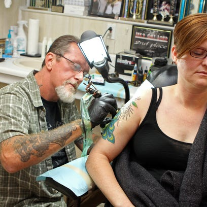 Dancing Dragon has inked thousands, and the local tattoo industry