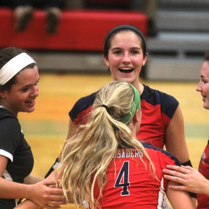 Notre Dame, St. Henry reach Ninth Region girls' volleyball final